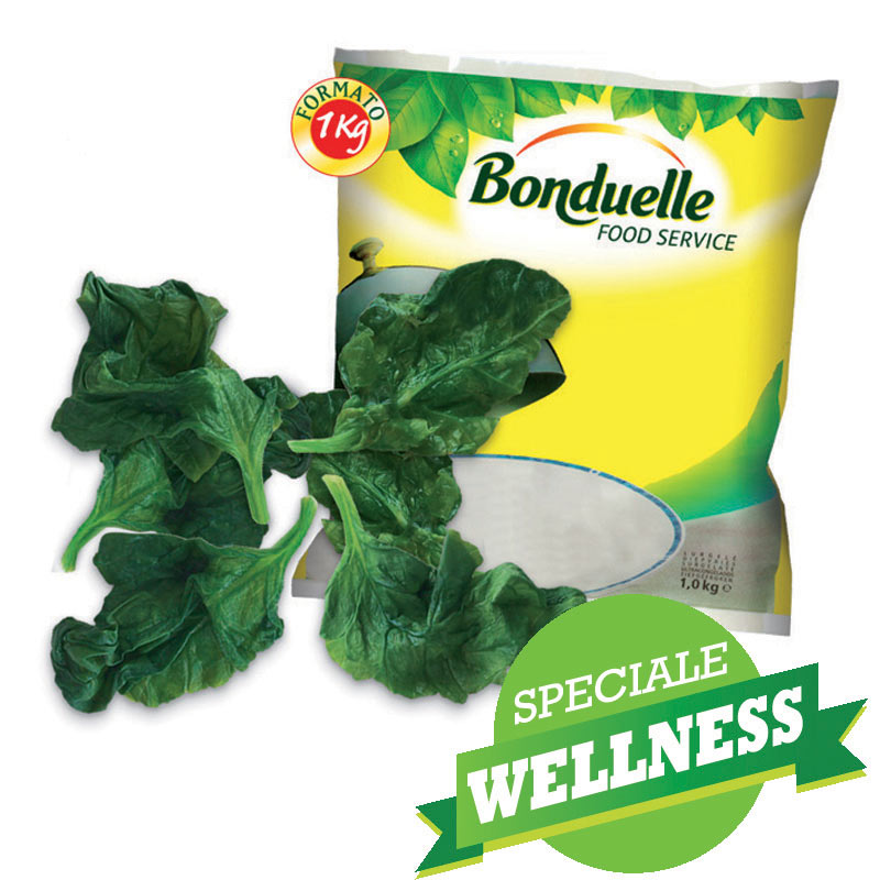 BON.FOGLIE SPINACI KG.1 BONDUELLE