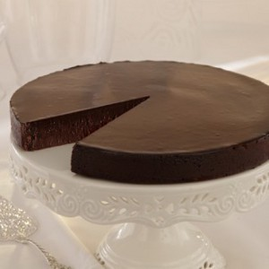 FLOURLESS CHOCOLATE CAKE 16PORZ. SWEET