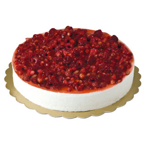 CHEESECAKE FRAGOLE/RIBES KG 1
