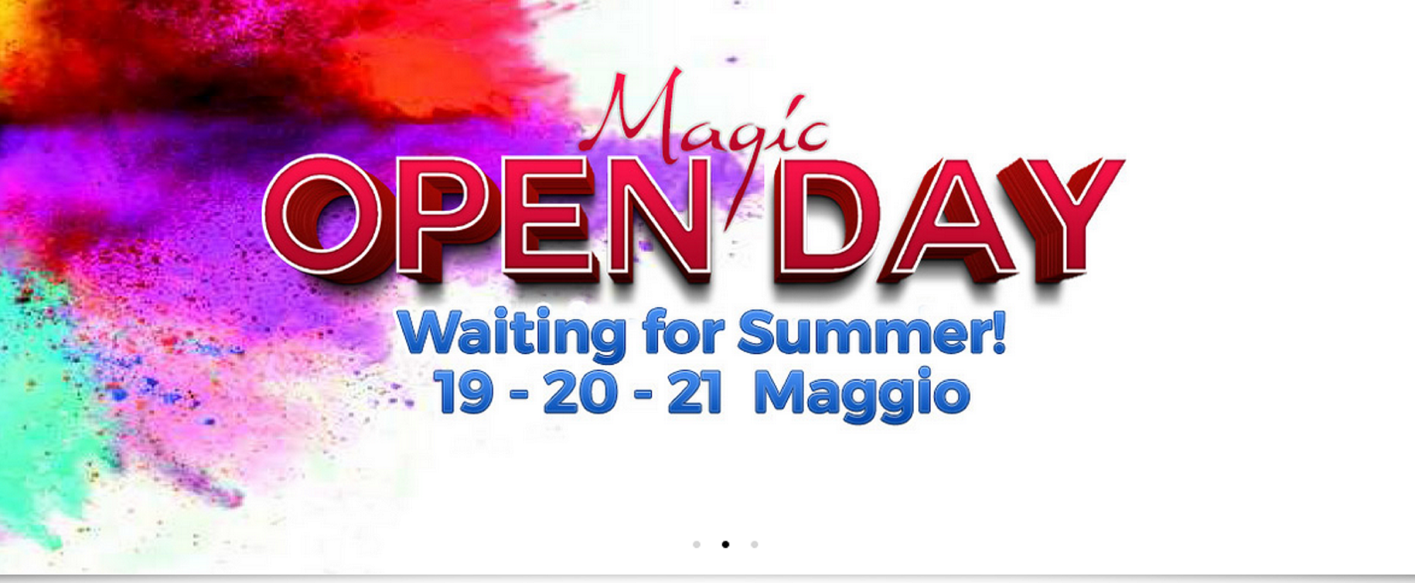 "SAVE THE DATE: OPEN DAY ""WAITING FOR SUMMER"" BY RISTOPIU' LOMBARDIA"