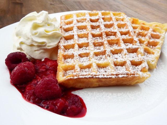 Impareggiabile waffle, parola di Chef Ruggero
