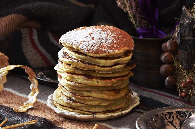 """Scusi, vorrei un pancake"""