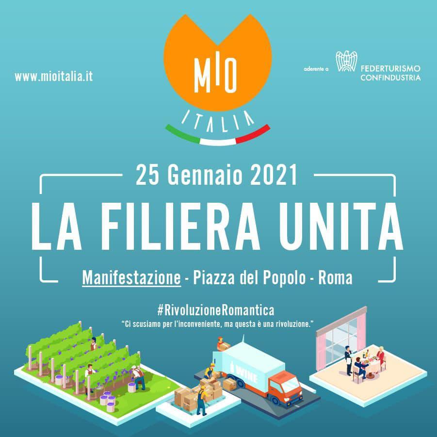 Il 25 andiamo a Roma per il lavoro!