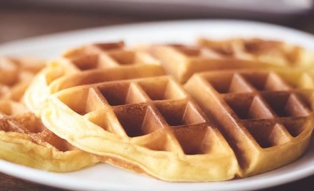 Piove? Torna il sorriso con i waffle